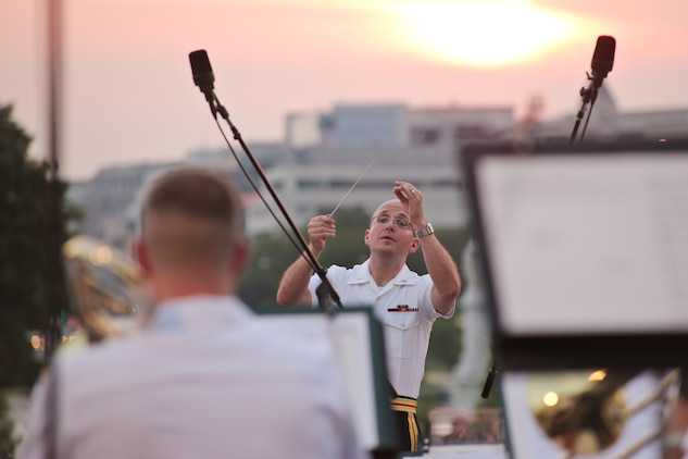 The Marine Band performed a Summer Fare concert at the U.S. Capitol on June 10, 2015. (U.S. Marine Corps photo by Staff Sgt. Brian Rust/released)