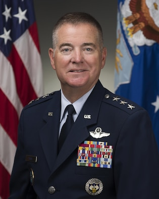 Lt. Gen. Michael Dubie was photographed in the Pentagon on July 23, 2015, Washington, D.C. (U.S. Air Force photo/Jim Varhegyi)