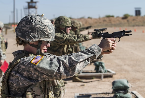Army Reserve Soldiers receive training in 'telling the Army story'