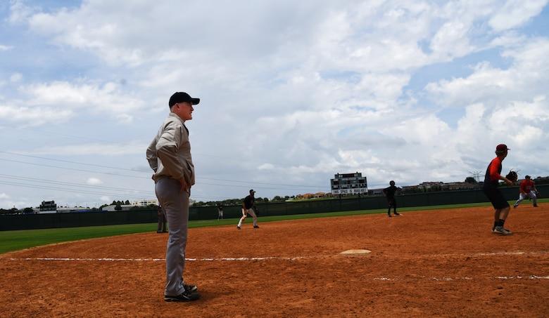 MacDill Reservist commander gives back through softball