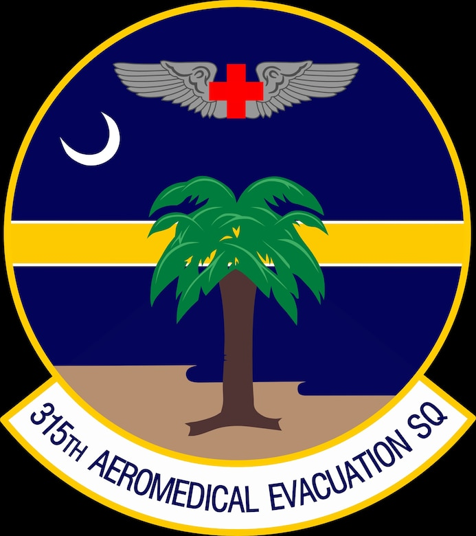 315th Aeromedical Evacuation Squadron Patch