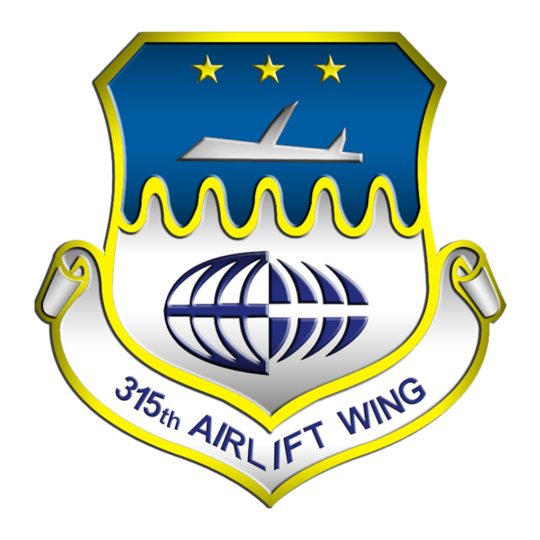 315th Airlift Wing Patch