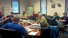 East Branch Lake hosted a First Responder and Safety Tabletop Exercise at the East Branch Resident Office, May 6.