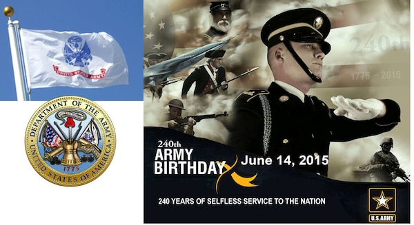 240th Birthday of the U.S. Army