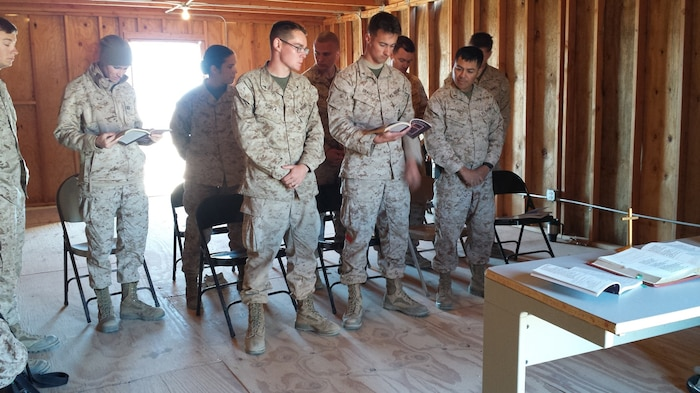 LFT to RT: LCpl Brownlee, LT Danielle Anderson, 2nd Lt Tiffany Aguiar, LCpl Hurla, 1st Lt A.J. Gerdes, LCPL Brady, CAPT David Huewetter, 1st Lt Heriberto Lopez,  LCpl Nick Rosen 