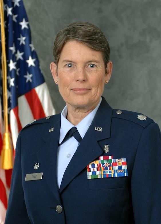 Lt. Col. Laura K. Jones, 9th Medical Operations Squadron commander.