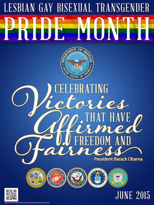 "In the 2014 LGBT Pride Month Proclamation signed by President Barack Obama, he said, ""As progress spreads from State to State, as justice is delivered in the courtroom, and as more of our fellow Americans are treated with dignity and respect -- our Nation becomes not only more accepting, but more equal as well. During LGBT Pride Month, we celebrate victories that have affirmed freedom and fairness, and we recommit ourselves to completing the work that remains."""
