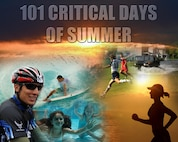 "The ""101 Critical Days of Summer"" is a Department of Defense-wide annual initiative to raise awareness of the hazards during the summer season. The 1st Special Operations Safety Office wants everyone on Hurlburt to know how to stay safe this summer. Safety tips highlighting summer safety will be posted weekly during the campaign. (U.S. Air Force Graphic/Staff Sgt. John Bainter)"