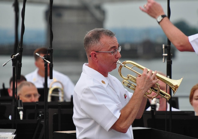 The Marine Band performed a Summer Fare concert on July 11, 2013 in Washington, D.C.