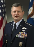 Lt. Gen. Gregory Biscone was photographed in the Pentagon on Mar. 18, 2015. (U.S. Air Force photo/Jim Varhegyi)
