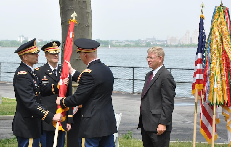 Change of command ceremonies have been carried out for centuries. It is a military tradition steeped in heraldry and its purpose is to emphasize the continuity of leadership and unit identity despite changes in individual authority.                  