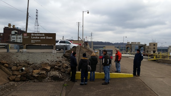 The U.S. Army Corps of Engineer Pittsburgh District started accepting bids for a security fence installation at Locks and Dam 2 on the Monongahela River in Braddock, Pa., May 29