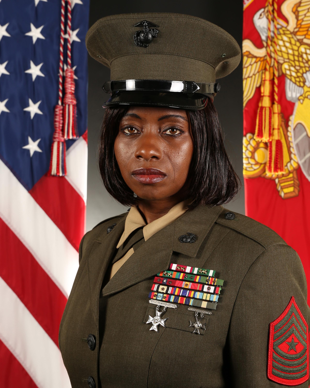 Sergeant Major Leveta S. Smith > Marine Corps Recruit ...