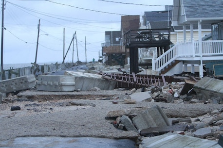 The U.S. Army Corps of Engineers' Philadelphia District is conducting a feasibility study to evaluate potential hurricane, coastal storm and flood risk management projects in the communities of Fortescue and Gandys Beach in Downe Township, N.J. The study involves engineering, environmental and economic analyses of various alternatives in order to develop a recommended plan.