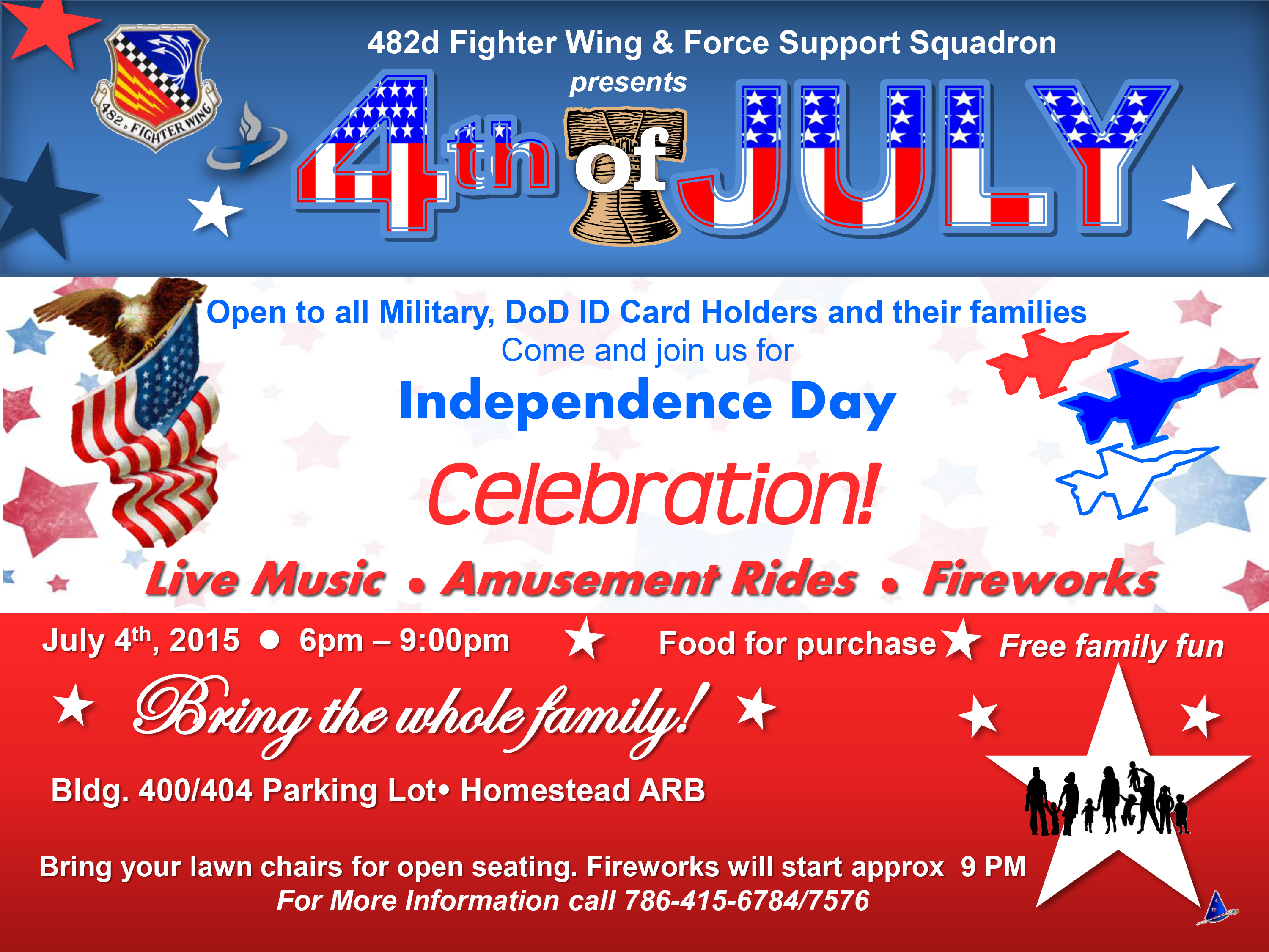 Base hosts 4th of July celebration
