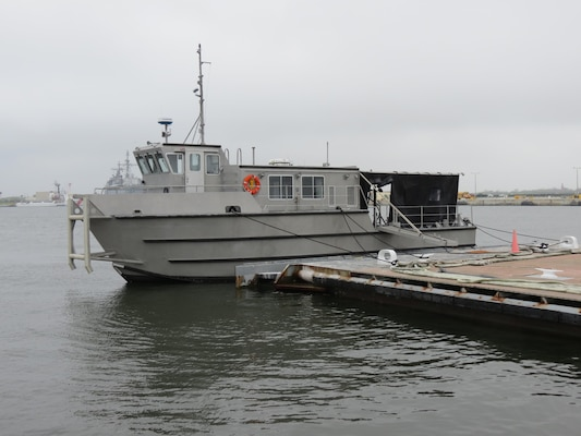 SERMC received a new Diver Support Boat that will enable its divers to conduct sustained waterborne repairs to ships in the Mayport basin.