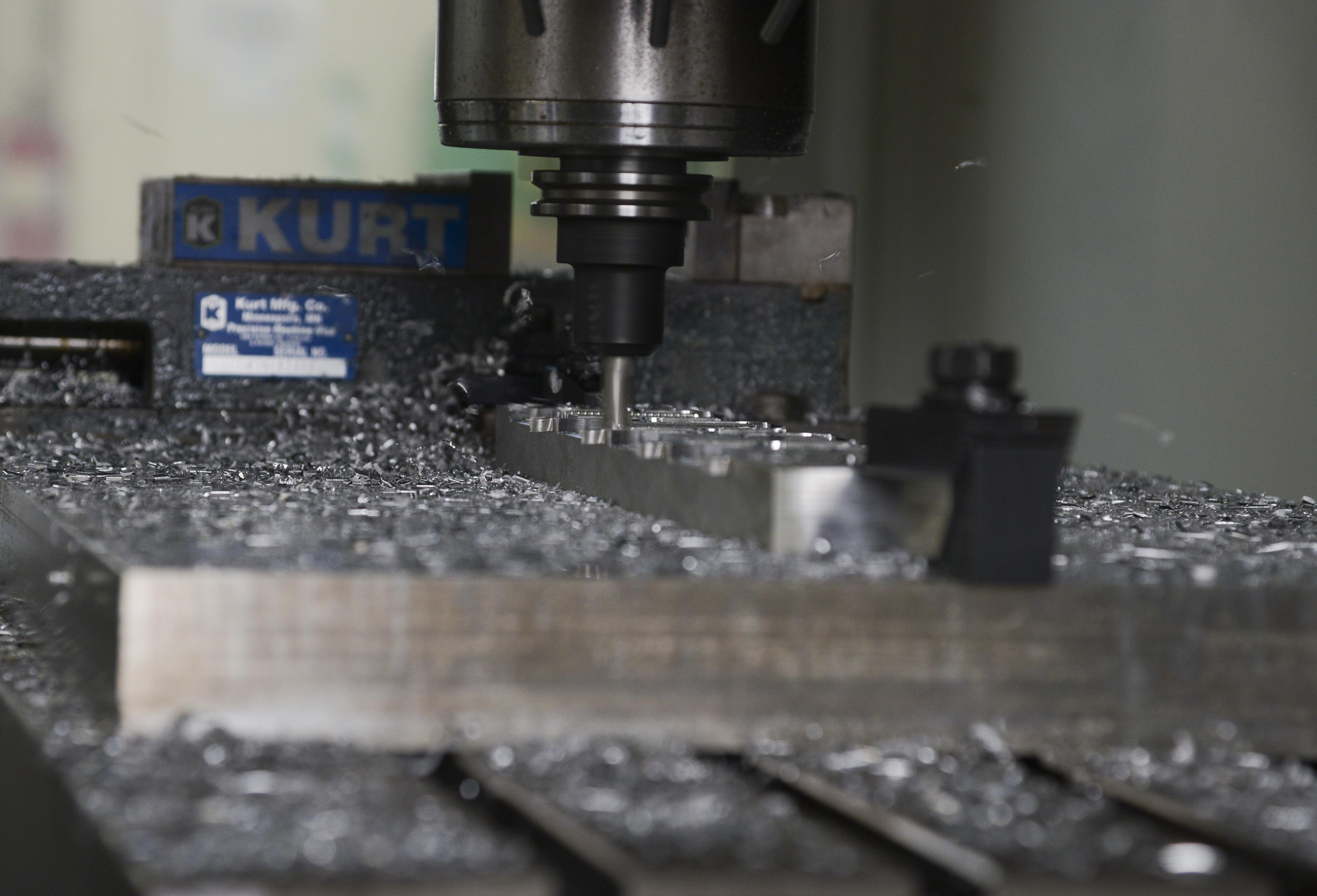 Sparks fly at Metal tech