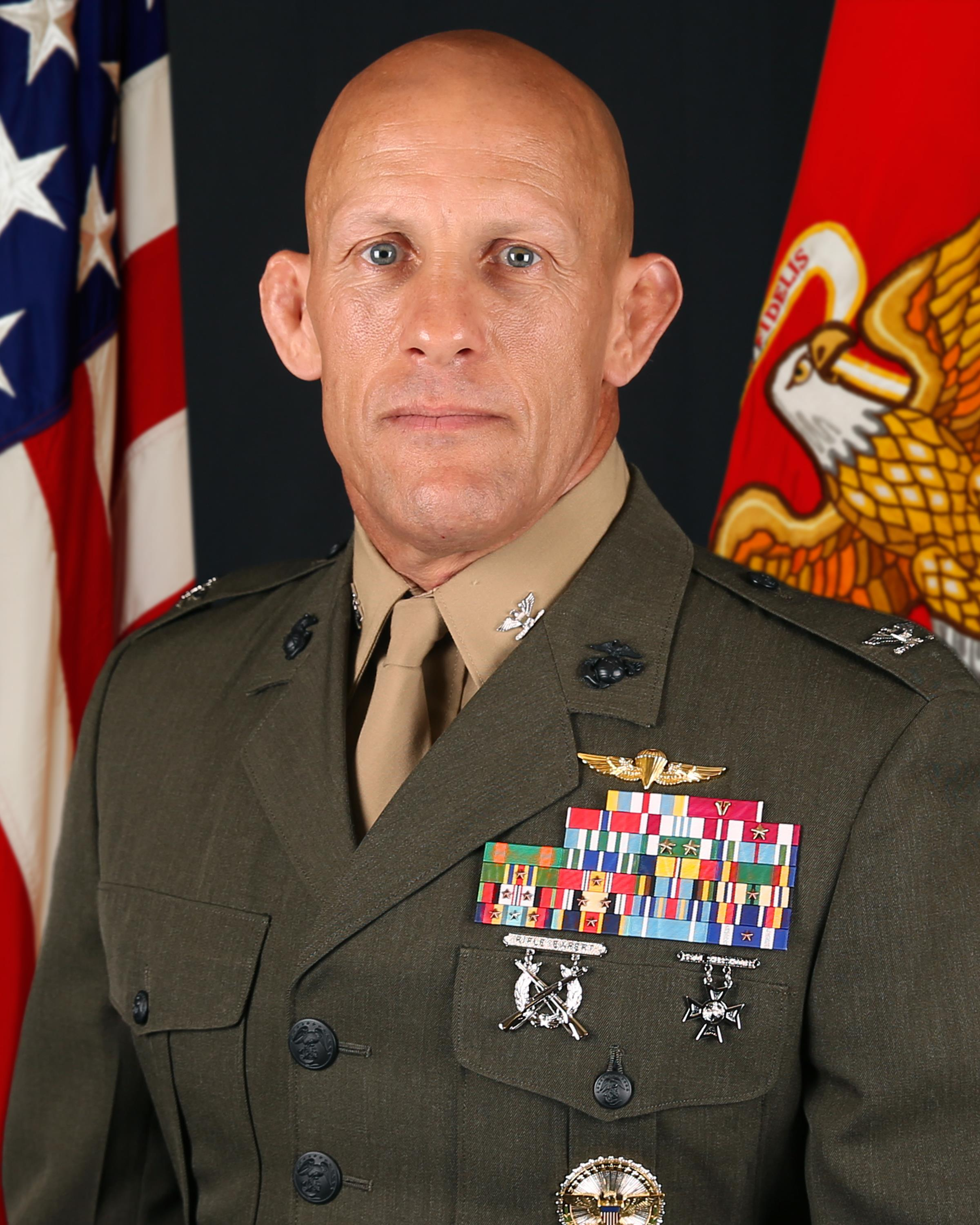 Colonel Peter D. Huntley > Marine Corps Forces Special ...