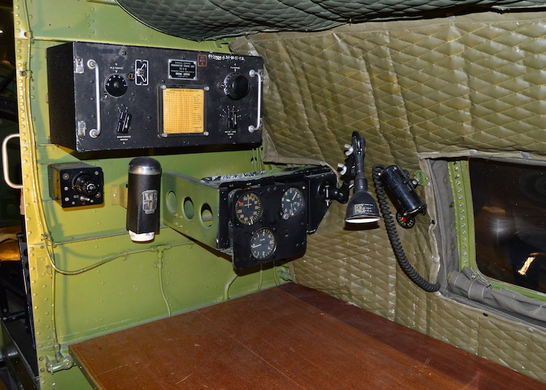 DAYTON, Ohio - Martin B-26G Marauder interior view at the National Museum of the U.S. Air Force. (U.S. Air Force photo)