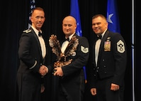 Honor Guard Program Manager of the Year - Tech. Sgt. Aaron Porter, 2nd Force Support Squadron (U.S. Air Force photo/Senior Airman Joseph Raatz)