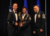First Sergeant of the Year - Senior Master Sgt. Latoya Edwards-Morgan, 2nd Security Forces Squadron (U.S. Air Force photo/Senior Airman Joseph Raatz)