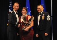 Key Spouse of the Year - Mrs. Samantha Nawrocki, 2nd Aircraft Maintenance Squadron (U.S. Air Force photo/Senior Airman Joseph Raatz)