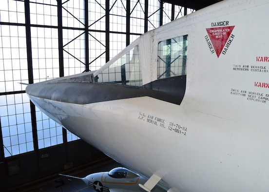 DAYTON, Ohio - North American XB-70 at the National Museum of the U.S. Air Force. (U.S. Air Force photo by Ken LaRock)