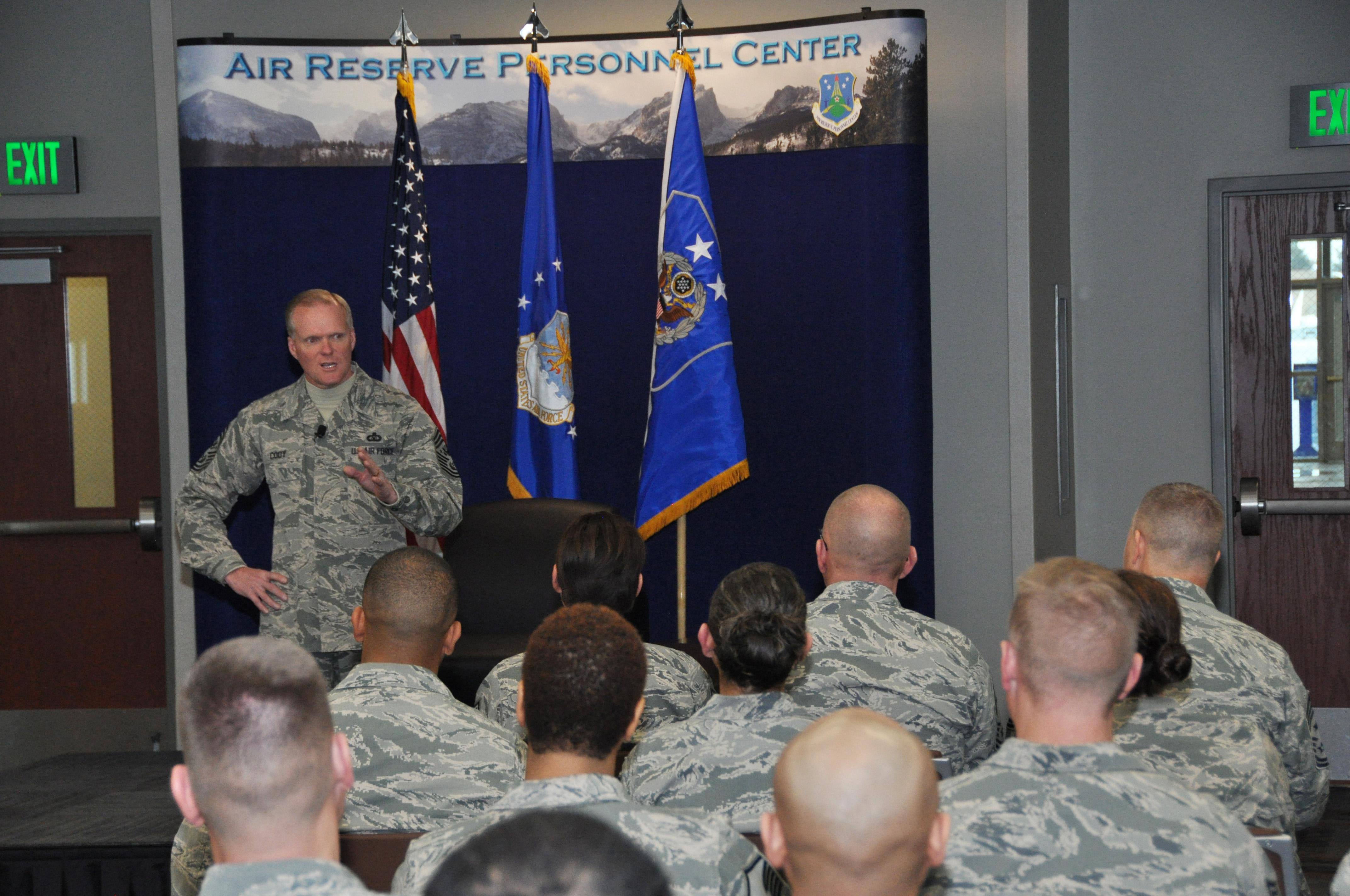 Cody visits Air Reserve Personnel Center > Air Force Reserve