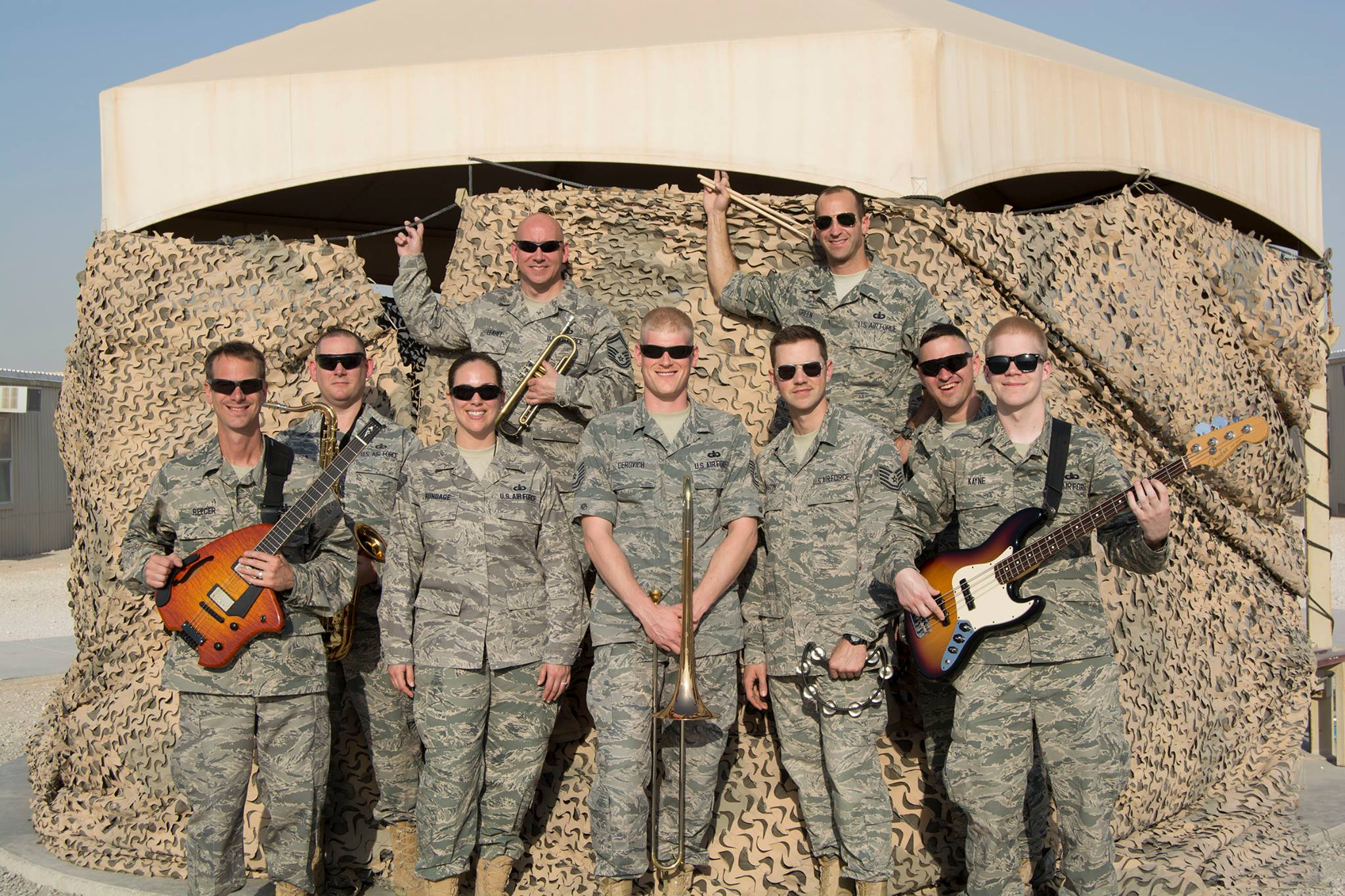 The U S  Air Force Band's deployment group, Nighthawk