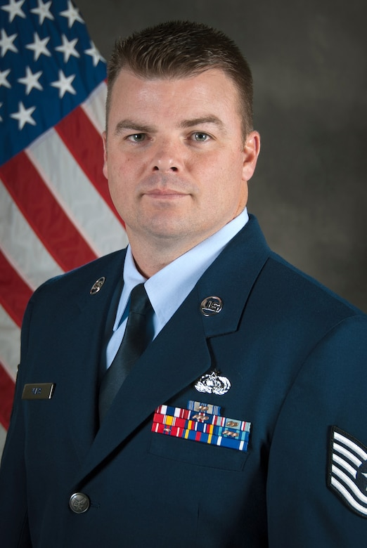 Tech. Sgt. Don A. Yeats, the Kentucky Air National Guard's Non-Commissioned Officer of the Year for 2014, is a radio transmission systems specialist for the 123rd Special Tactics Squadron. During 2014, he led the development of a maritime communication system and repurposed communications suite that allows mission commanders to track and direct surface forces from airborne platforms. (U.S. Air National Guard photo by Master Sgt. Philip Speck)