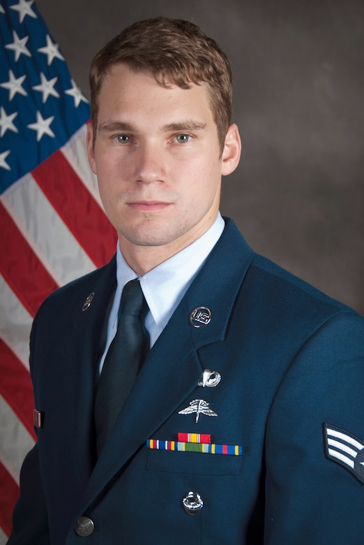 Senior Airman Robert W. Willging, the Kentucky Air National Guard's Airman of the Year for 2104, is a combat control specialist in the 123rd Special Tactics Squadron. In the past year, he has displayed judgment beyond his pay grade by flawlessly controlling more than 30 surgically precise air strikes in Afghanistan, resulting 110 enemy killed in action. (U.S. Air National Guard photo by Master Sgt. Philip Speck)