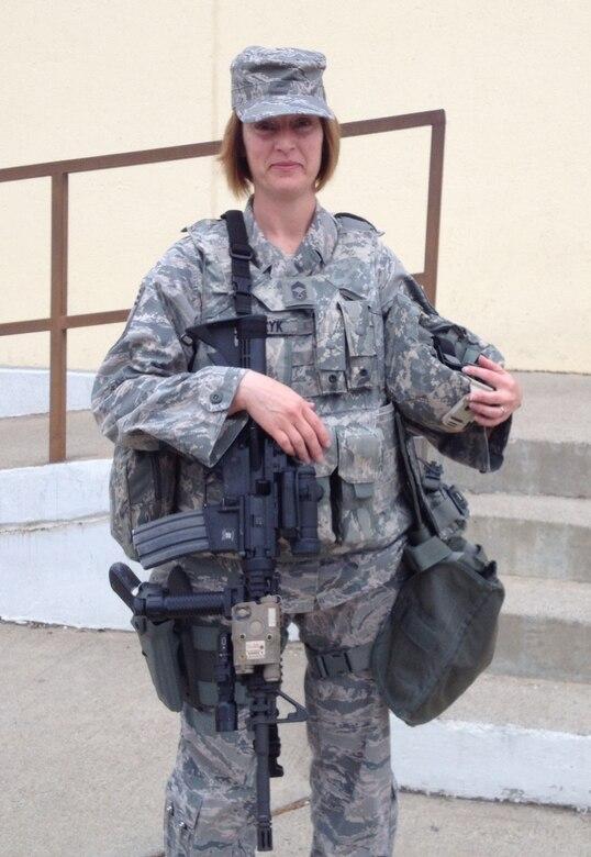 Chief Master Sgt. Laura Klaczyk (Courtesy photo)