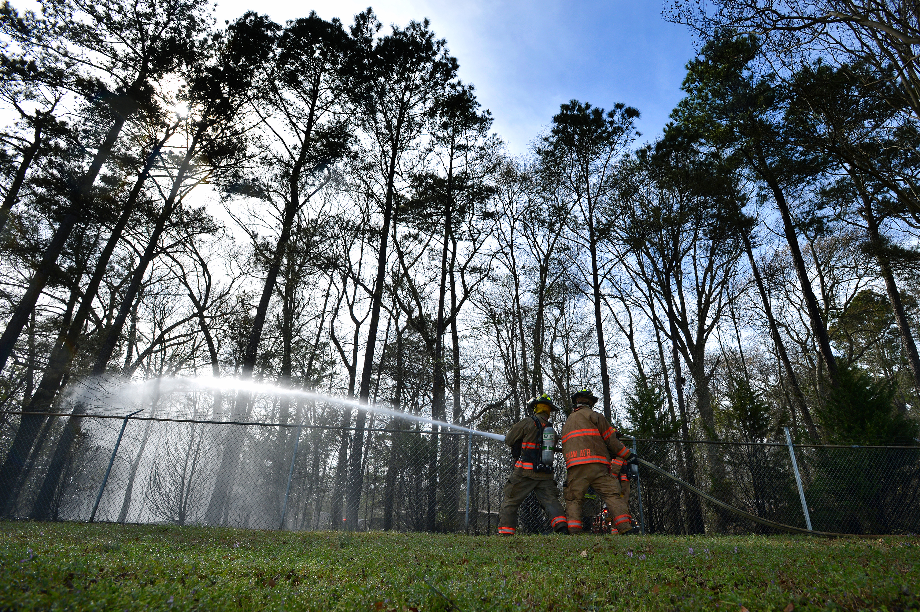 Primed: Shaw fire department takes action > Shaw Air Force