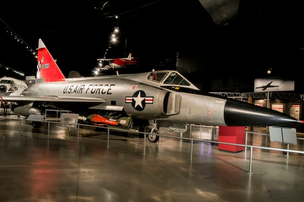 DAYTON, Ohio -- Convair F-102A Delta Dagger in the Cold War Gallery at the National Museum of the United States Air Force (U.S. Air Force photo)