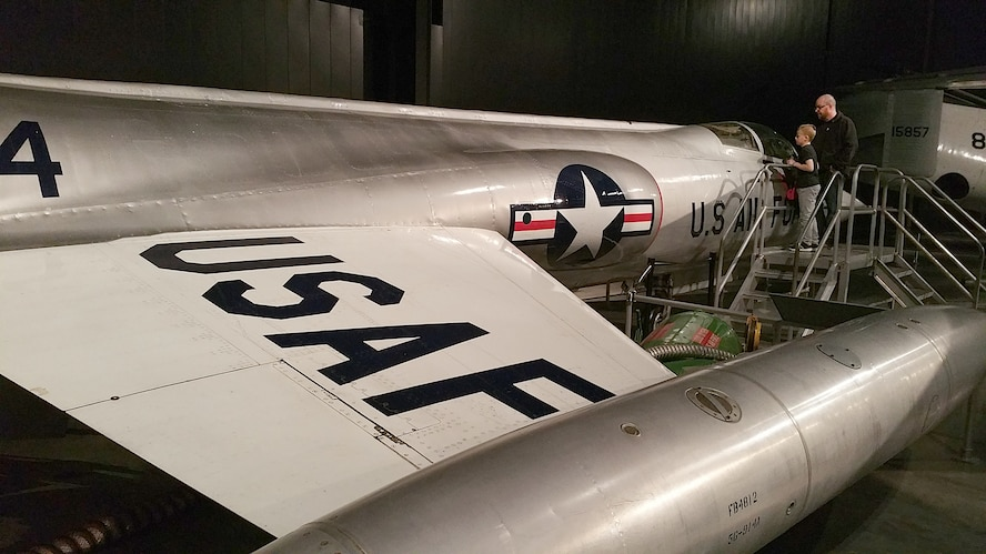 DAYTON, Ohio -- Lockheed F-104C Starfighter on display in the Cold War Gallery at the National Museum of the United States Air Force. (U.S. Air Force photo)