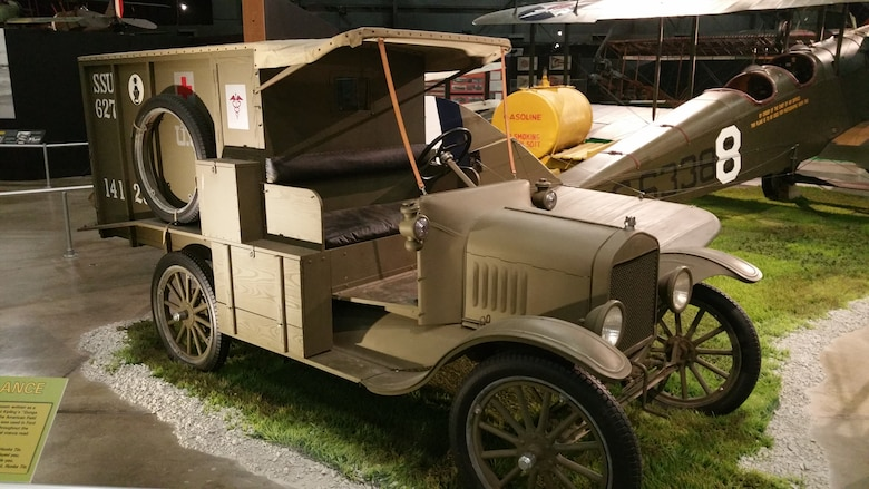 Ford Model T Ambulance Gt National Museum Of The Us Air