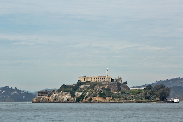 Alcatraz Island, located in San Francisco Bay, is one of the many attractions Marines and Sailors can see or visit by attending the three-day Single Marine Program to San Francisco. The Single Marine Program hosts events and trips to locations such as Big Bear, the Grand Canyon, Las Vegas, San Francisco and others. For more information, please contact 760-725-5288.