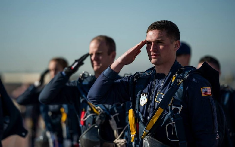 Cadet 1st Class Jake Sortor. (Air Force photo)