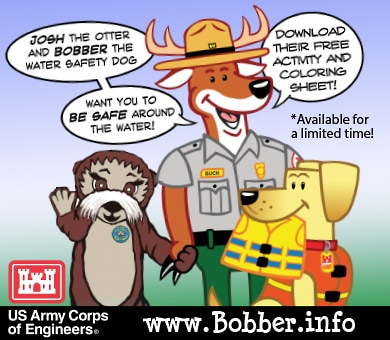 The National Operations Center for Water Safety is proud to announce that there is an excellent product available to download on the Bobber the Water Safety Dog website www.Bobber.info.