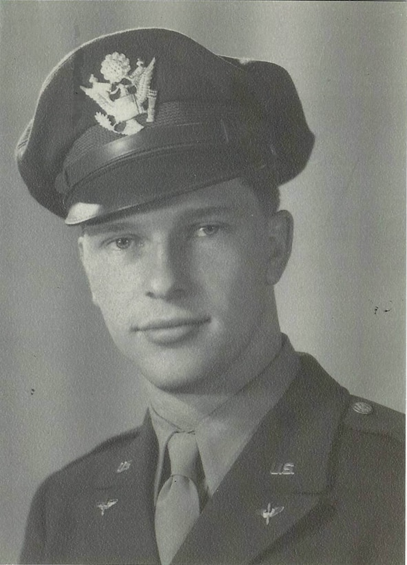 Second Lieutenant Frederick W. Nerney, from Attleboro, Massachusetts, joined the 371st Fighter Group as a replacement pilot when the unit was at Tantonville Airfield, France.  He was assigned to the 406th Fighter Squadron but killed in action later, after the unit moved to Metz Airfield, France, during a combat mission over Germany on 19 March 1945.  (Courtesy of Mr. Paul Nerney, nephew of Lt. Nerney)