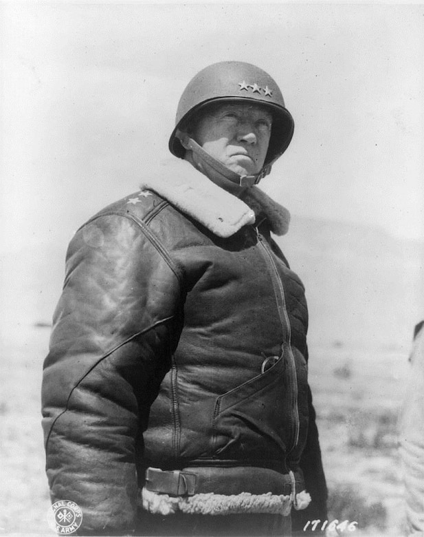 Lieutenant General George S. Patton, Jr., US Army, commanded Third Army in the breakout from Normandy, across France and into Germany in 1944-1945.  (US Army)