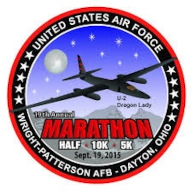The 19th annual United States Air Force Marathon will be held September 19, 2015 at Wright-Patterson AFB in Dayton, OH.  Air Mobility Command will sponsor an active duty team to compete in the full and half marathon.