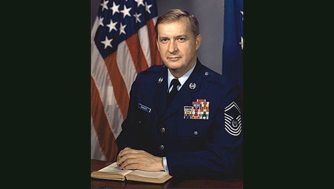 Ninth Chief Master Sgt. of the Air Force James C. Binnicker official photo (U.S. Air Force file photo)