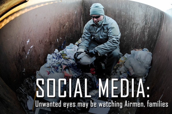 Operational Security is a vital program that all member of the 507th Air Refueling Wing must be mindful of.  The public affairs office encourages all members to safeguard their social media profiles to protect critical information.  (U.S. Air Force photo/Senior Airman Zachary Perras)