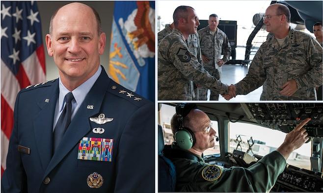 Lt. Gen. James F. Jackson, Air Force Reserve Command commander.