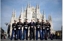 Detachment taken at the Duomo with Amb Reeker
