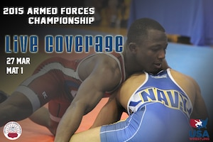 Armed Forces Championships Live - Day 1 Mat 1