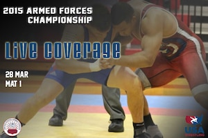 Armed Forces Championships Live - Day 2 Mat 1