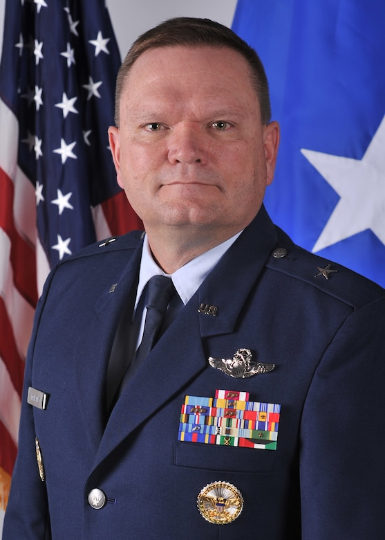 "Brig. Gen. Samuel ""Bo"" Mahaney is the commander of the Air Reserve Personnel Center, Buckley Air Force Base, Colo."