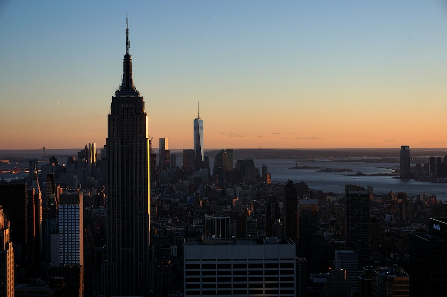 The skyline of New York City presented from the Rockefeller Center March 17, 2015. Procrastination can make life goals challenging, whether it's getting a new job or going on an adventure to NYC, people should keep their goals in mind when managing their time. (U.S. Air Force photo by Airman 1st Class Malcolm Mayfield)